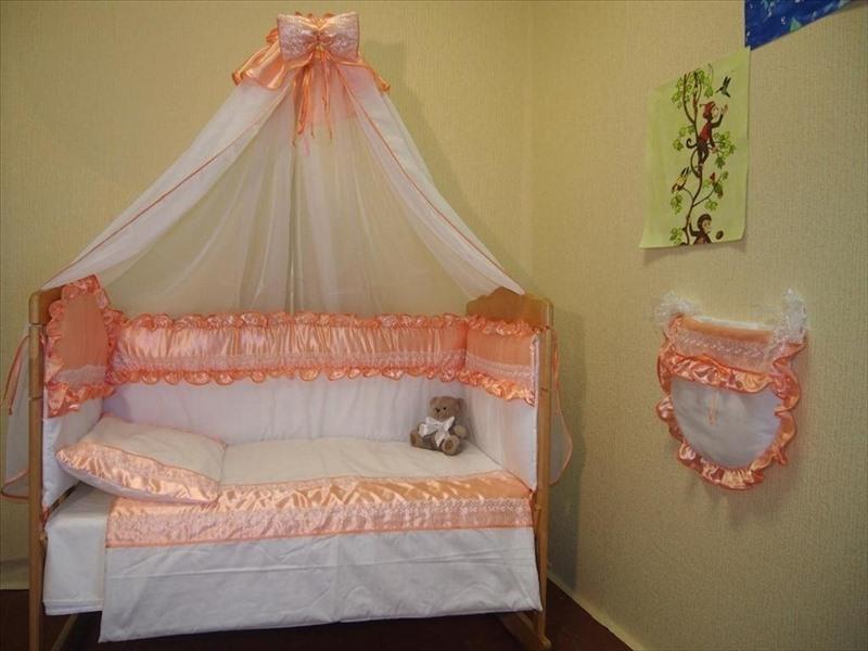 Мастер-класс балдахин на детскую кроватку