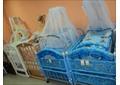 Кроватки металлические детские в магазине АИСТ